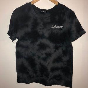 Introvert Tie Dye T-Shirt by Fifth Sun